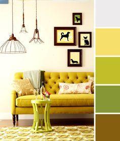 lemon/lime color scheme