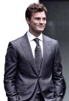 Jamie Dornan on set of Fifty Shades of Grey in Vancouver 13 Oct 2014 Jamie Dornan, Fifty Shades Darker, Fifty Shades Of Grey, Celebrity Photos, Celebrity News, Mr Grey, Fifty Shades Trilogy, Hollywood Actor, Dakota Johnson