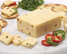 Made in the traditional Scandinavian manner, this is a rich and buttery, semi-soft cheese infused with jalapeño peppers.  Slice and serve with your sandwich for an irresistible, zesty flavor.