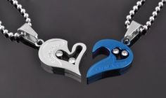 Couple Necklace for Two