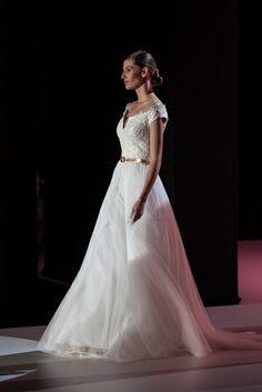 Novias románticas para Hannibal Laguna en la Bridal Week