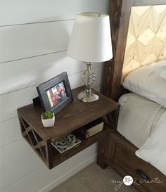 Floating Night Stand, MyLove2Create