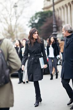 Emmanuelle Alt by Caroline's mode