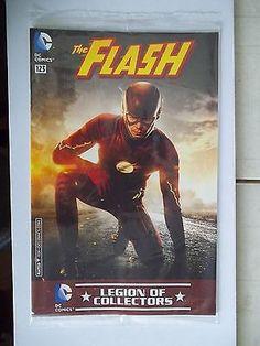 The Flash Variant Comic Book DC TV Drama Legion Of Collectors Exclusive