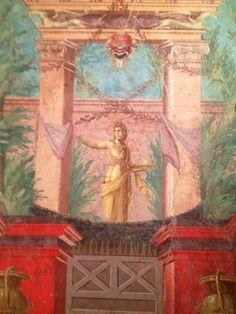 Roman Frescos, Met Museum