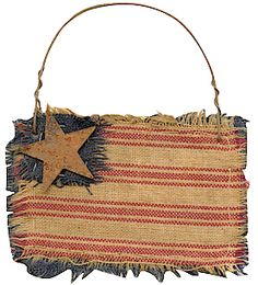 Rag flag...ideal to hang on a prim tree...love the ragged look!!!