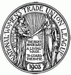 Seal of National Womens Trade Union League, from the Proceedings of the Third Biennial Convention, 1911, Baker Library, Harvard Business School, Historical Collections
