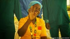 geophilworld: Last Ebola Patient In Liberia Discharged (Photo)
