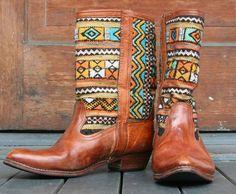 size 11-12 Excellent Adroit Old West Kids Black Leather Western Cowboy Boots