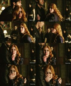 Season 1 Episode 13: Clary and Alec. This was so sad yet sweet. The two people who love him most