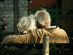 To be able to grow old with the love of my life