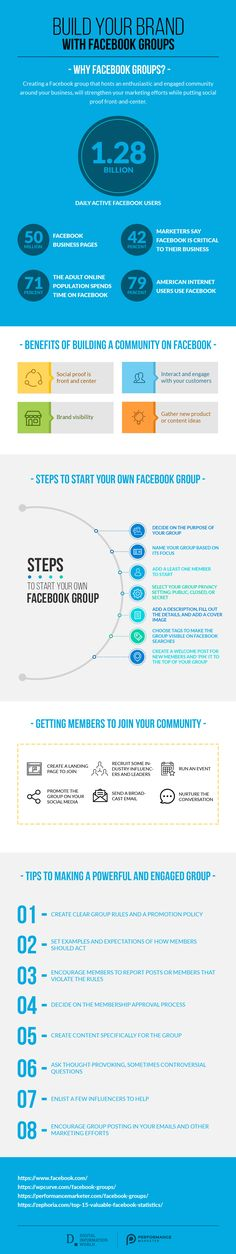 How to Use Facebook Groups to Build Your Business - infographic