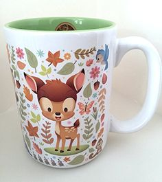 Disney Parks Bambi Cuties Character Ceramic Mug