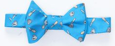 Shucker Bow Tie in Blue by Southern Proper