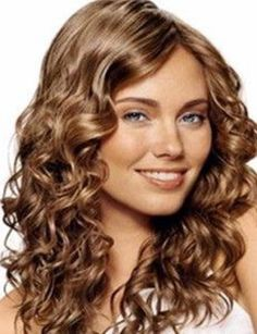 Trend Hairstylel Popular Natural Hair Color Ideas,Still in search of new methods to improve your picture? The best strategy to improve your look is to vary hair shade and tens of millions of ladies go. Layered Curly Hair, Long Curly Hair, Curly Hair Styles, Natural Hair Styles, Hair Colour For Green Eyes, Hair Color For Women, Cool Hair Color, Hair Colors, Permed Hairstyles