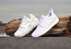 """#Nike Air Huarache - """"All White"""""""