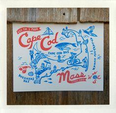 cape cod screen print!