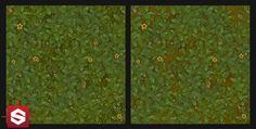 ArtStation - Stylized Grass Texture - Substance Designer, Irvin Castro