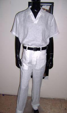 Moneta Menswear ready for the all white parties / Resortwear