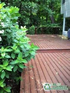 Copper GreenClaimed® Infinity™ Grooved Edge Composite Decking is beautiful and eco-friendly!