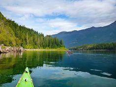 Strathcona Provincial Park BC Vancouver island, kayaking ⭐️⭐️⭐️⭐️Buttle Lake, road trip, PleinAirEnVr