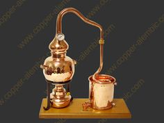 Beautiful Large 5 Litre Copper Essential Oil Still