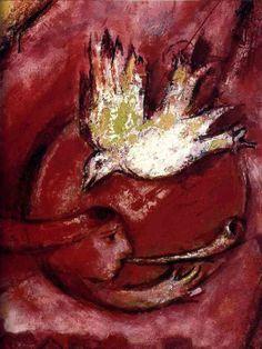 Marc Chagall 1887-1985 | Cubist, Symbolist, Fauve and Surrealist painter ~ via Tutt'Art@
