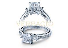 INSIGNIA-7067P engagement ring from The Insignia Collection of diamond engagement rings by Verragio