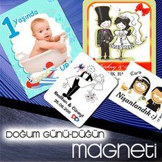 DOĞUM GÜNÜ VE DÜĞÜN MAGNETİ Magnet Toptan da doğumgünü ve düğün magnetleri şimdilerde çok popüler oldu. Doğumgünü ve düğün magnetlerinizi magnet imal eden firmalara yaptırabilirsiniz. http://bit.ly/LSyn9f #magnettoptan #dogumgünümagneti #dügünmagneti #magnet