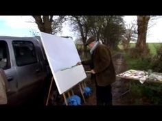 MA degree project using footage of David Hockney painting plein-aire from blank canvas in the Yorkshire Wolds in 2006. Music composed by Anna Rusbatch. I cla...