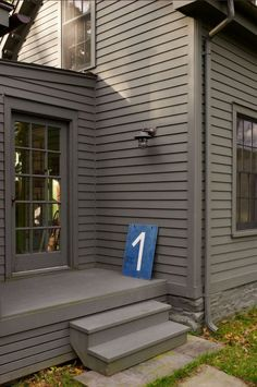 I like this house color, but the trim and doors need to be different