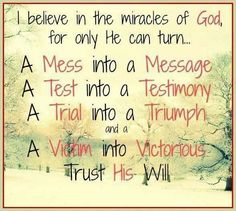 Miracles of God  https://www.facebook.com/pages/Gods-Miracles/190955830951421?ref=hl