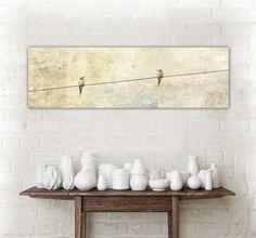 """Farbe - """"Little Dreamer"""" Leinwand 120 x 40 cm - ein Designerstück von BlickFangFotografie bei DaWanda"""