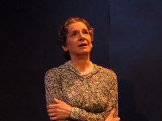 Sue Struve as ELeanor Roosevelt. Photo courtesy of Compass Rose Theater.