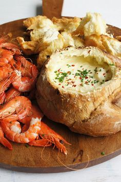 oldsheila's Seafood Cob will make the perfect appetiser at your long weekend festivities.