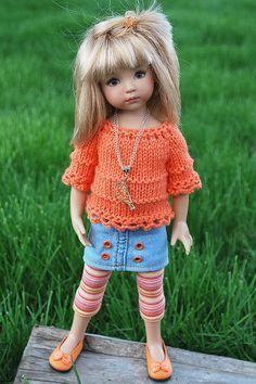 orange3   Flickr - Photo Sharing!  Little Darling doll - Dianna Effner
