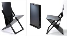 """The """"World's Thinnest, Most Compact Folding Chair"""": ISIS by Jake Phillips : TreeHugger"""