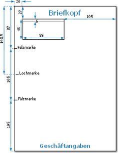 Maßstäbe Für Briefpapier Nach Din Norm 5008 Ddocuments