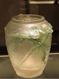 Lalique Art-Glass Vase<3<3<3
