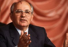 MIKHAIL GORBACHEV HERALDED THE END OF COMMUNSIM AND THE COLD WAR.