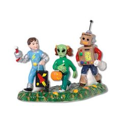 """Department 56: Products - """"Little Space Explorers"""" - View Accessories"""
