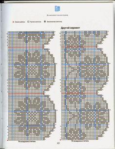 Barrados de Croche: Barrados Crochet Filet
