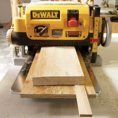 Planing Warped Boards