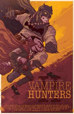 Vampire Hunters. on Behance @Charringo