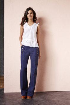 Pantalons & Jeans PANTALON JAMES MARINE - Ekyog