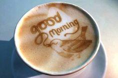 Cafe Latte Art - My Virtual Coffee House Coffee Latte Art, I Love Coffee, My Coffee, Coffee Drinks, Coffee Shop, Coffee Lovers, Good Morning Coffee, Coffee Break, Coffee World