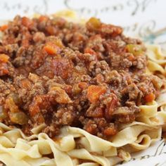 . Authentic Ragu alla Bolognese Recipe from Grandmothers Kitchen.