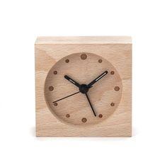 kikkerland houten wekker - Google Search
