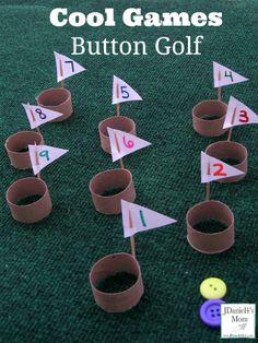 Cool Games- Button Golf