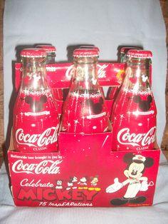 Celebrate Mickey - Coca Cola 6-pack